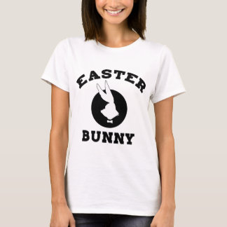 Easter Bunny Ladies T-Shirt