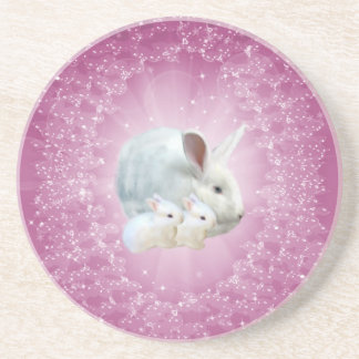 Easter Bunny Magic Coaster