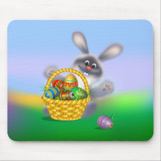Easter Bunny Mouse Pad