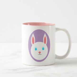 Easter Bunny Mug With Purple Accent