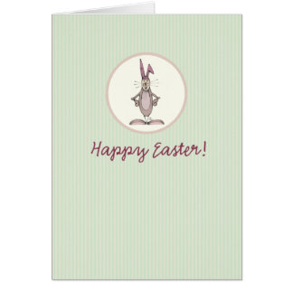 Easter Bunny Note Card