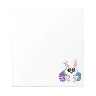 Easter Bunny Notepad