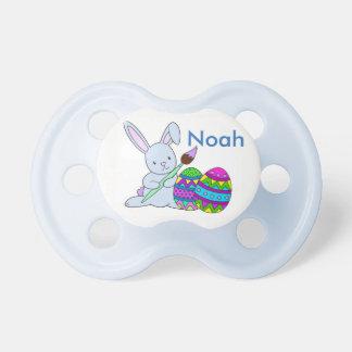 Easter Bunny Pacifier Baby's NAME Boy Girl