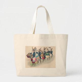 Easter Bunny Parade Band Egg Jumbo Tote Bag