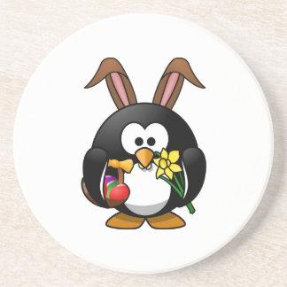 Easter Bunny Penguin Coaster