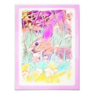 Easter Bunny Photo Print
