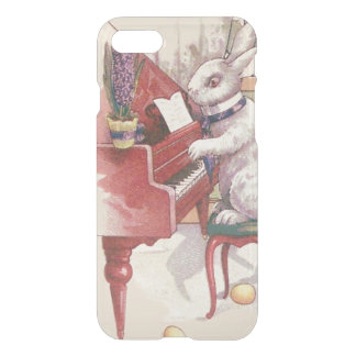 Easter Bunny Playing Piano Hyacinth iPhone 7 Case