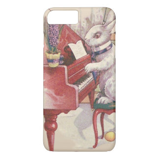 Easter Bunny Playing Piano Hyacinth iPhone 7 Plus Case