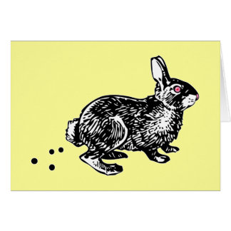 Easter Bunny Poo Cards