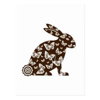 Easter Bunny Postcard © 2012 M Martz
