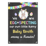 Easter Bunny Pregnancy Reveal Announcement