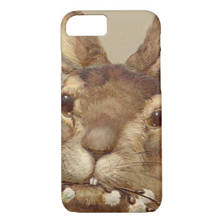 Easter Bunny Pussy Willow Floral iPhone 7 Case