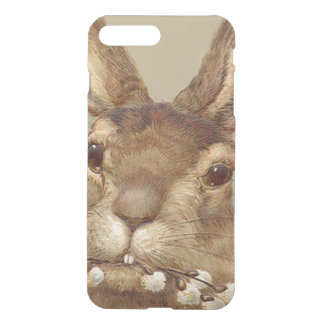 Easter Bunny Pussy Willow Floral iPhone 7 Plus Case