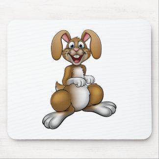 Easter Bunny Rabbit Cartoon Character Mouse Mat