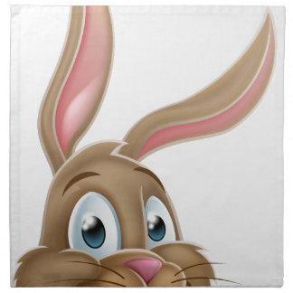 Easter Bunny Rabbit Cartoon Napkin