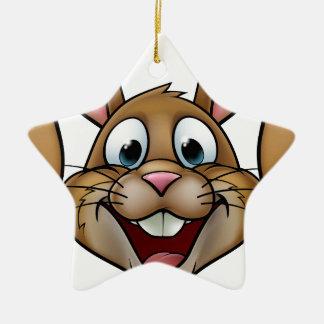 Easter Bunny Rabbit Christmas Ornament