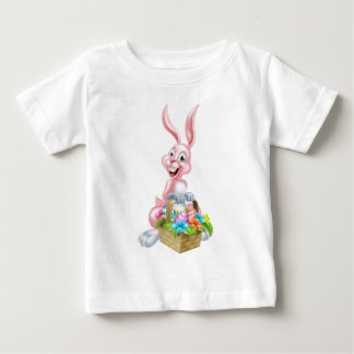 Easter Bunny Rabbit with Basket Baby T-Shirt