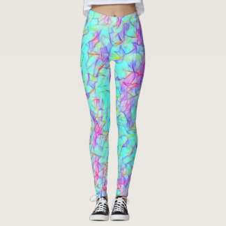 Easter Bunny Rave Love Lightning Leggings