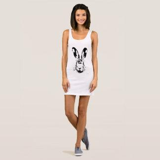 Easter bunny sleeveless dress