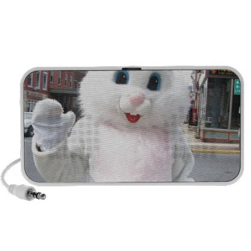 Easter Bunny iPod Speakers