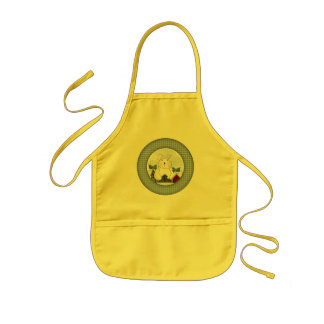 Easter Bunny T shirts and Gifts Kids Apron