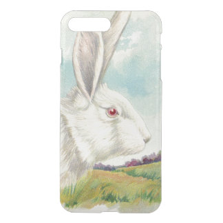 Easter Bunny White Albino Field iPhone 7 Plus Case