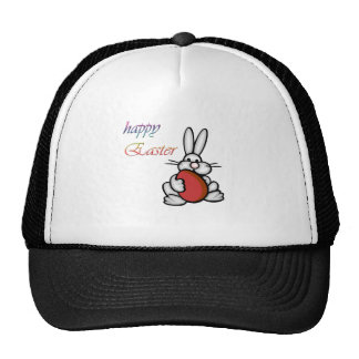 easter bunny with egg hat