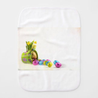 Easter Burp Cloth