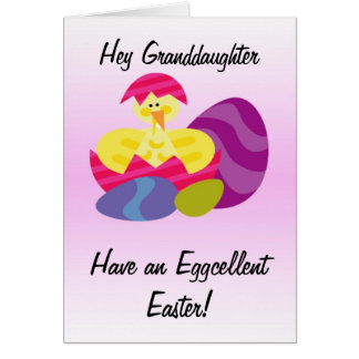 Granddaughter easter gifts t shirts art posters other gift easter card granddaughter negle Choice Image