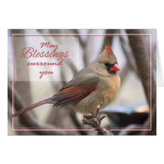 Easter Cardinal Card