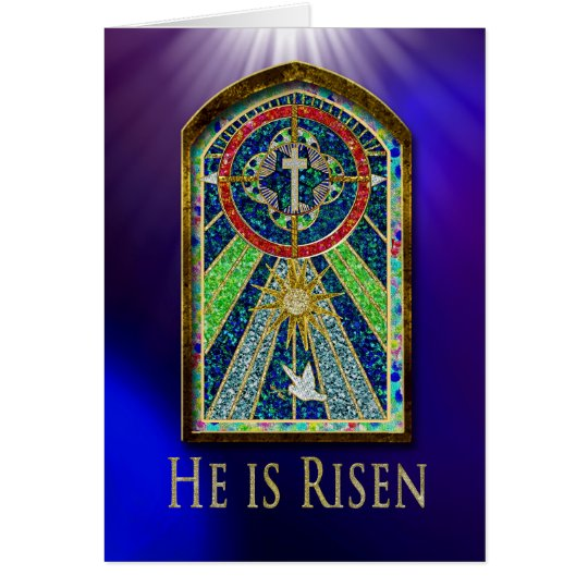 Easter - Cathedral Window - Christian - Colourful