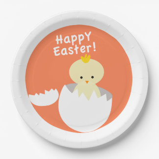 Easter Chic Paper Plate