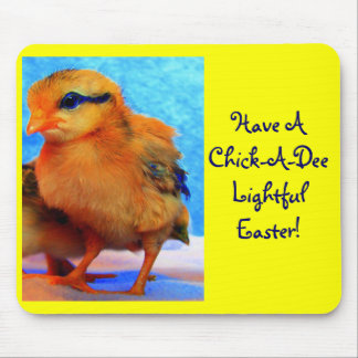 Easter Chick-A-Dee-Light Mouse Mats