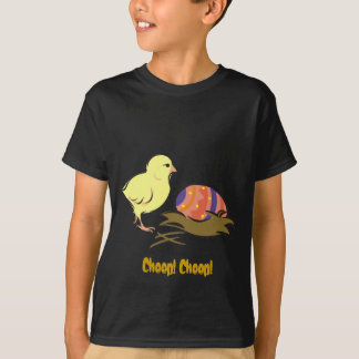 Easter chick and painted egg T-Shirt