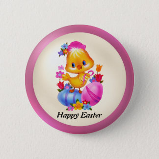 Easter Chick Button