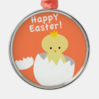 Easter Chick Christmas Ornament