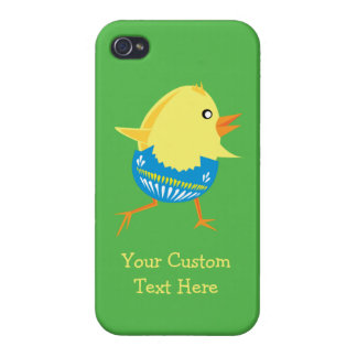 Easter Chick custom cases Case For iPhone 4