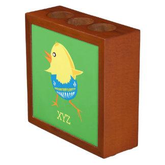 Easter Chick custom desk organizer