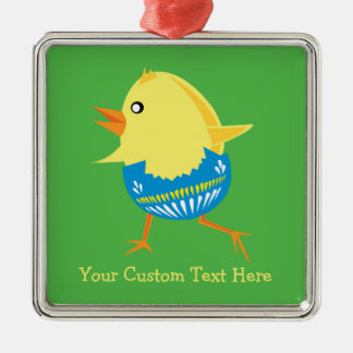 Easter Chick custom ornament