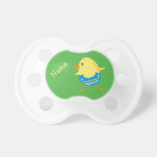 Easter Chick custom pacifier