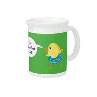 Easter Chick custom pitcher