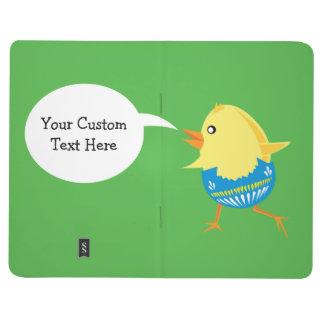 Easter Chick custom pocket journal