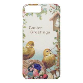 Easter Chick Forget-Me-Not Bell iPhone 7 Plus Case