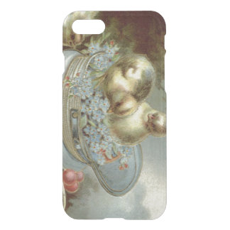 Easter Chick Forget-Me-Nots Cap iPhone 7 Case