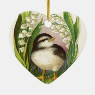 Easter Chick Lily Of The Valley Christmas Ornament