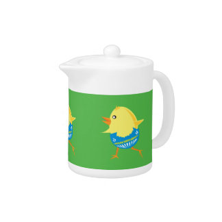 Easter Chick teapot