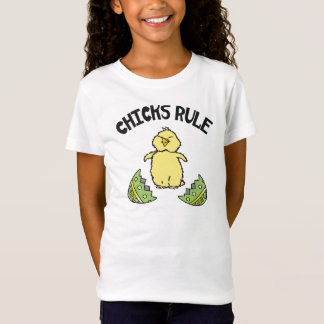 Easter Chicks Rule Kids T-Shirt