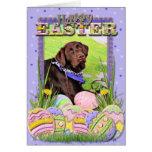 Easter - Chocolate Labrador - Hershey