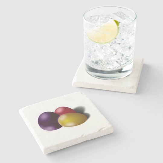 Easter Coaster Metallic Eggs Home Decor Accessory