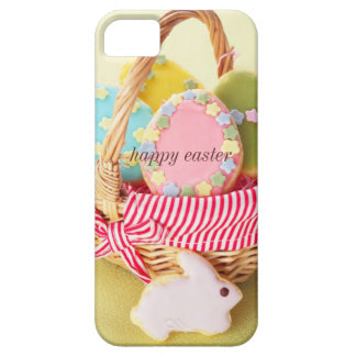 Easter cookies in basket iPhone 5 cases